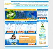Drift2 Web Hosting First Design