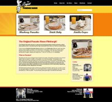 Original Pancake House Pittsburgh – Web Design