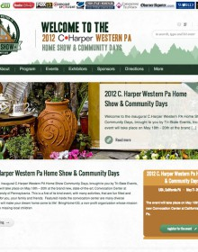 Western Pa Home Show & Community Days – Web Site and Logo