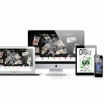 Donkey Pops responsive web design mock up. Web design and labeling created by Drift2 Solutions