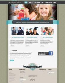The Etiquette Network Web Site