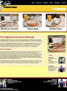 Original Pancake House Pittsburgh – Web Design