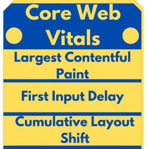 Visual of core web vitals