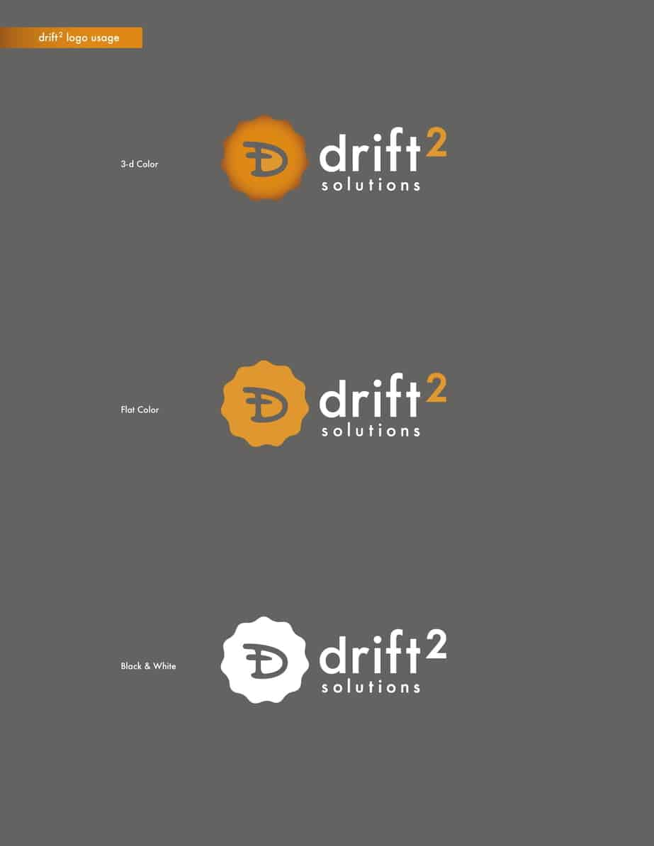 Drift2 Solutions Logo Style Example