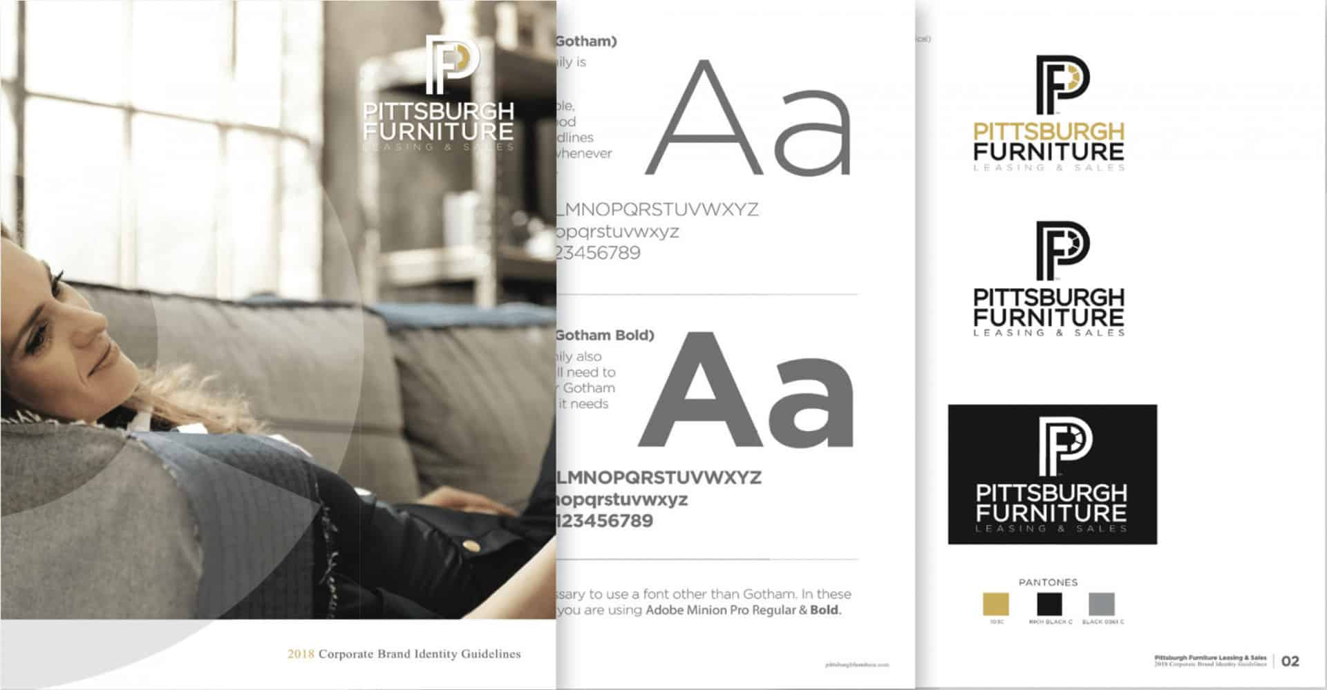Pittsburgh Furniture Brand Style Guide