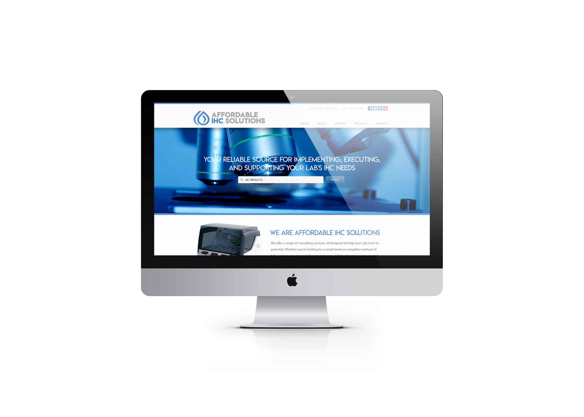 Professional Pittsburgh website redesign by Drift2 Solutions